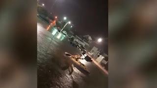 Após chuvas, homem usa caiaque para navegar pelas ruas de Sousa; veja vídeo