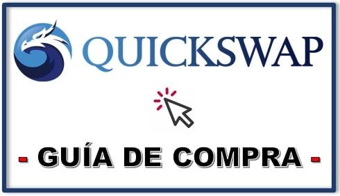 Cómo y Dónde Comprar Criptomoneda QUICKSWAP (QUICK) Tutorial