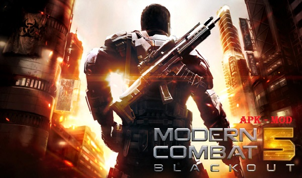 Download Modern Combat 5 Blackout MOD APK Android Game