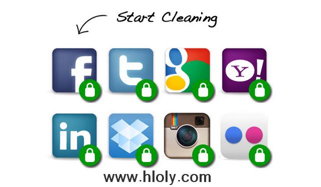 اظهر جميع التطبيقات المصرح لها بالدخول علي حساباتك في الشبكات الاجتماعية