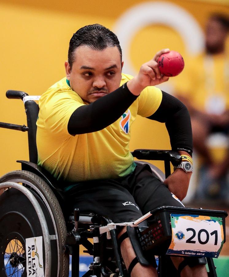 Maciel Santos, da bocha, é experiente em Jogos Paralímpicos