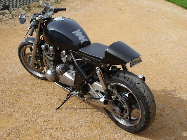 Leche Roue Pour Moto Cafe Racer
