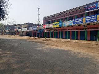 जौनपुर : जनता कर्फ्यू में दिखा नौपेड़वा बाजार में सन्नाटा