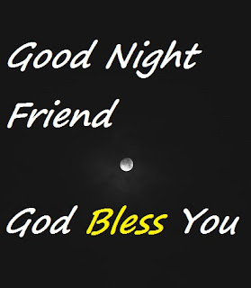 good night blessings for friends