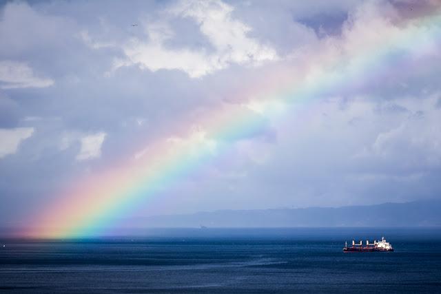 'Bajo el arco iris', de Carlos Larios