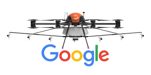 Google wants to test fire drones