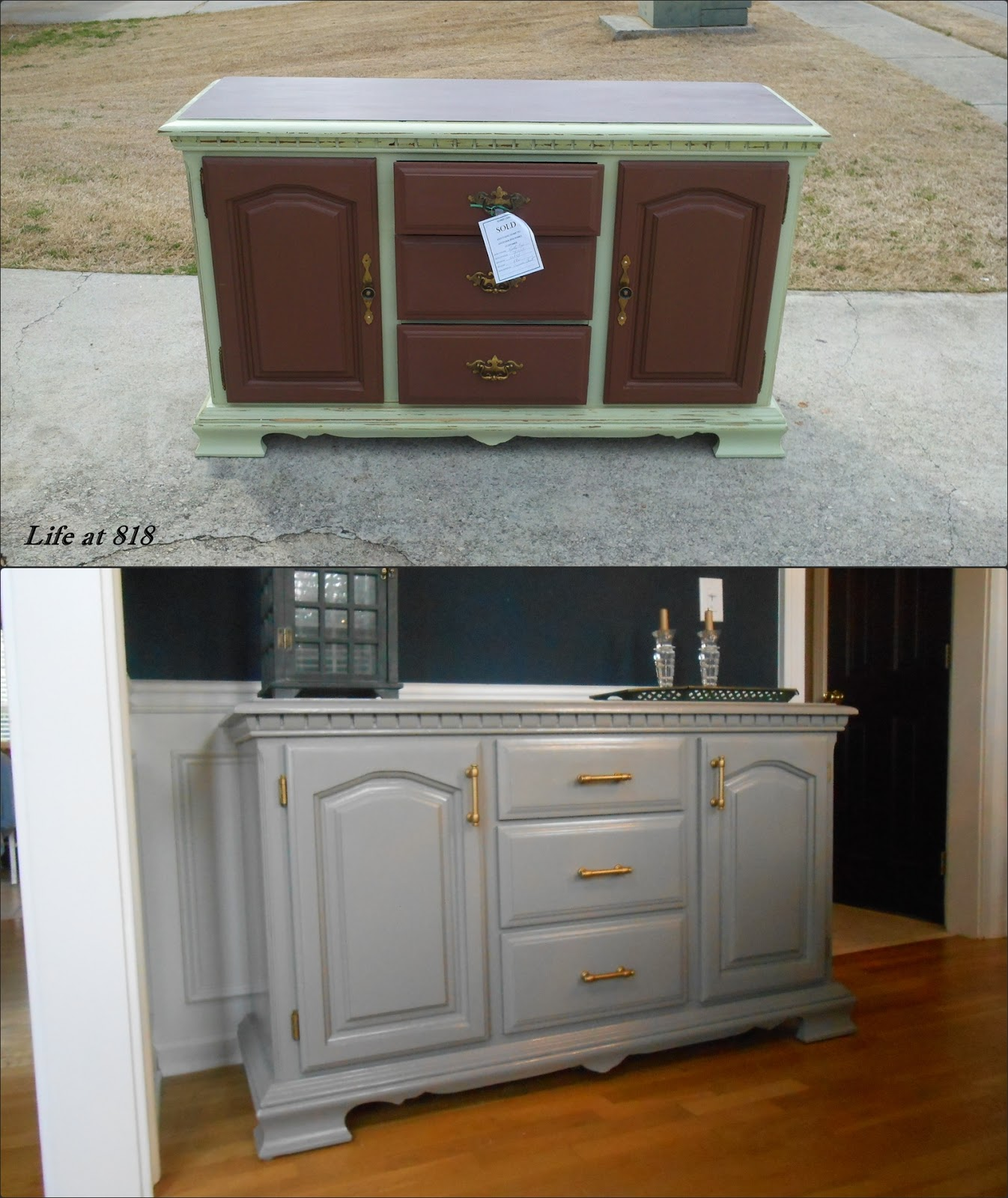 Dining Room Sideboards And Buffets: Life At 818: Refinishing A Dining Room Buffet