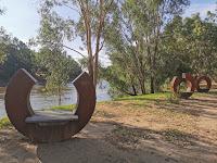 Wagga Wagga Public Art   Ageless Oura by John Wood