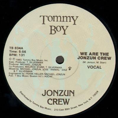 Jonzun Crew – We Are The Jonzun Crew (1983) (VLS) (FLAC + 320 kbps)
