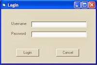 Cara Membuat Program Login Sederhana Dengan Dan Tanpa Database Menggunakan Visual Basic 6.0