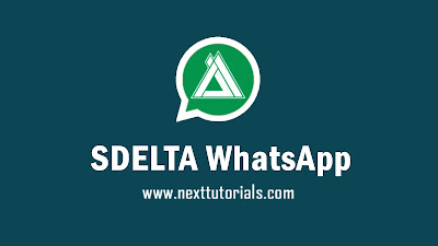 Download WhatsApp SDELTA  v1.0 Apk Mod Latest Version 2020,sdelta terbaru 2020,tema delta wa keren 2020,aplikasi wa mod anti ban terbaik 2020