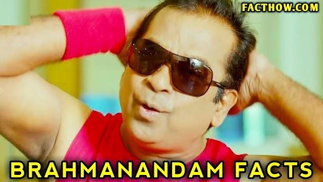 Brahmanandam Comedian से जुड़े 20 अनसुने रोचक तथ्य और जानकारी
