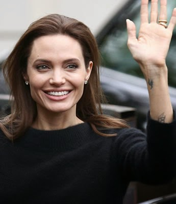 Angelina Jolie en Paris
