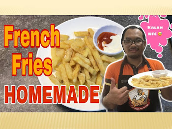 Resepi Kentang Goreng Crispy Ala KFC Yang Mudah | Simple French Fries Homemade