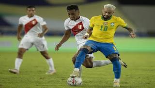 موعد مباراة البرازيل وبيرو في نصف نهائي كوبا أمريكا 2021.