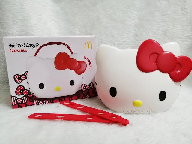 Berjalan Kaki Ke McDonalds Untuk Dapatkan Hello Kitty Carrier