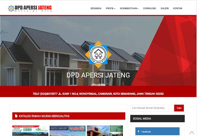 DPD APERSI JATENG OFFICIAL WEBSITE