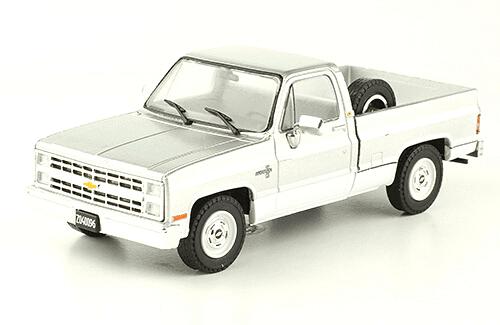 Chevrolet C-10 Silverado 1986 1:43, autos inolvidables argentinos 80 90