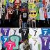 Cristiano Ronaldo también tiene su colección de camisetas