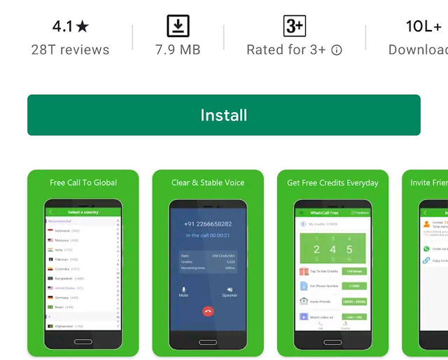 FreeCall App Review
