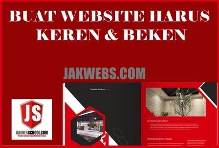 BROSUR JASA PEMBUATAN WEBSITE