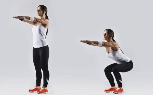 5 Simple Exercises That Will Transform Your Body in Just Four Weeks - Squats