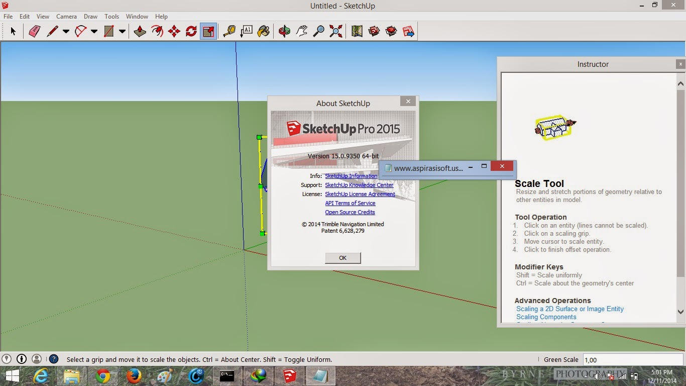 sketchup 2015  with crack 64 bit windows 8
