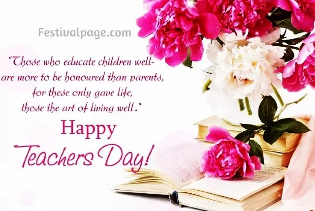 Deep Respect Teachers Day Greeting Card, Quotes Images