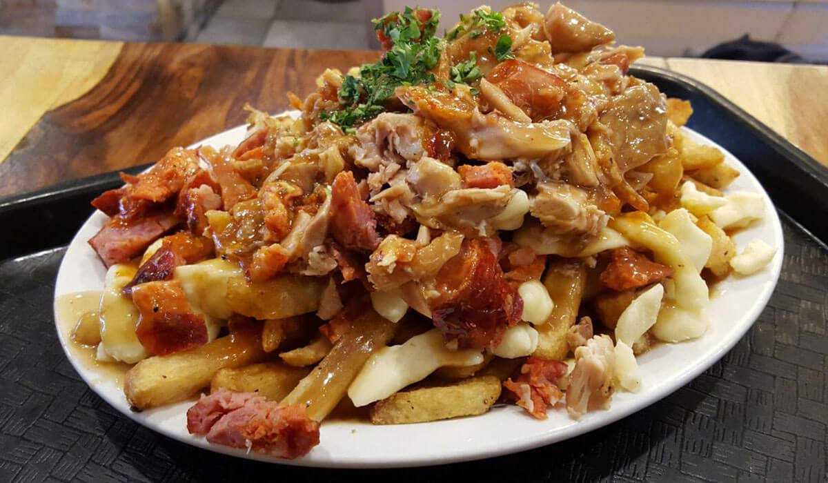 poutine canadian food