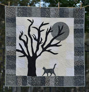 All Hallows Eve quilt
