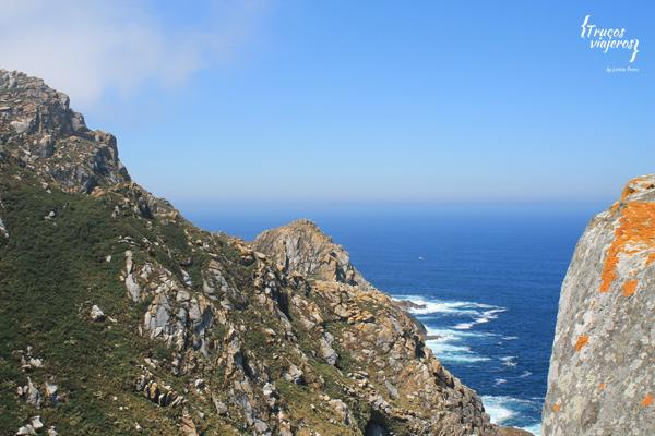 vistas de Cies desde el Alto da Campa