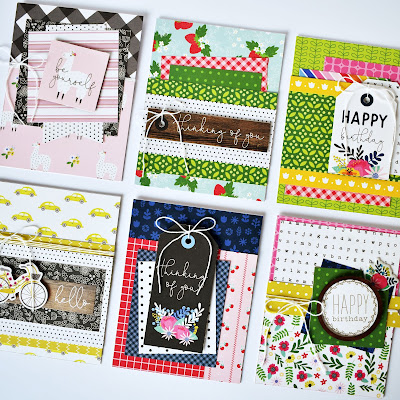 """Card Challenge by Wendy Sue Anderson featuring the """"My Bright Life"""" collection from Pebbles, Inc."""