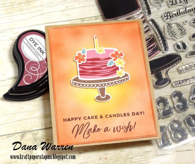 Dana Warren- Kraft Paper Stamps - Pinkfresh Studio
