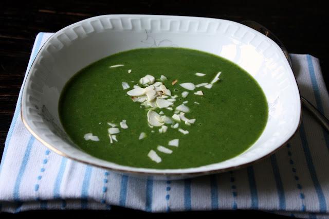 zupa1 Zupa szpinakowa