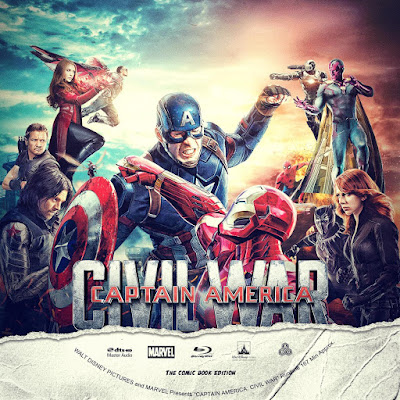 Label Bluray Captain America Civil War