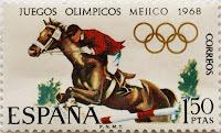 XIX JUEGOS OLÍMPICOS MÉXICO 1968. HÍPICA