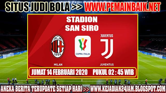 Prediksi Pertandingan AC Milan Vs Juventus Di Semifinal Coppa Italia