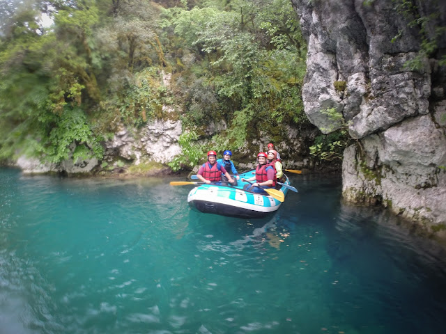 Rafting on Voidomatis River, Greece