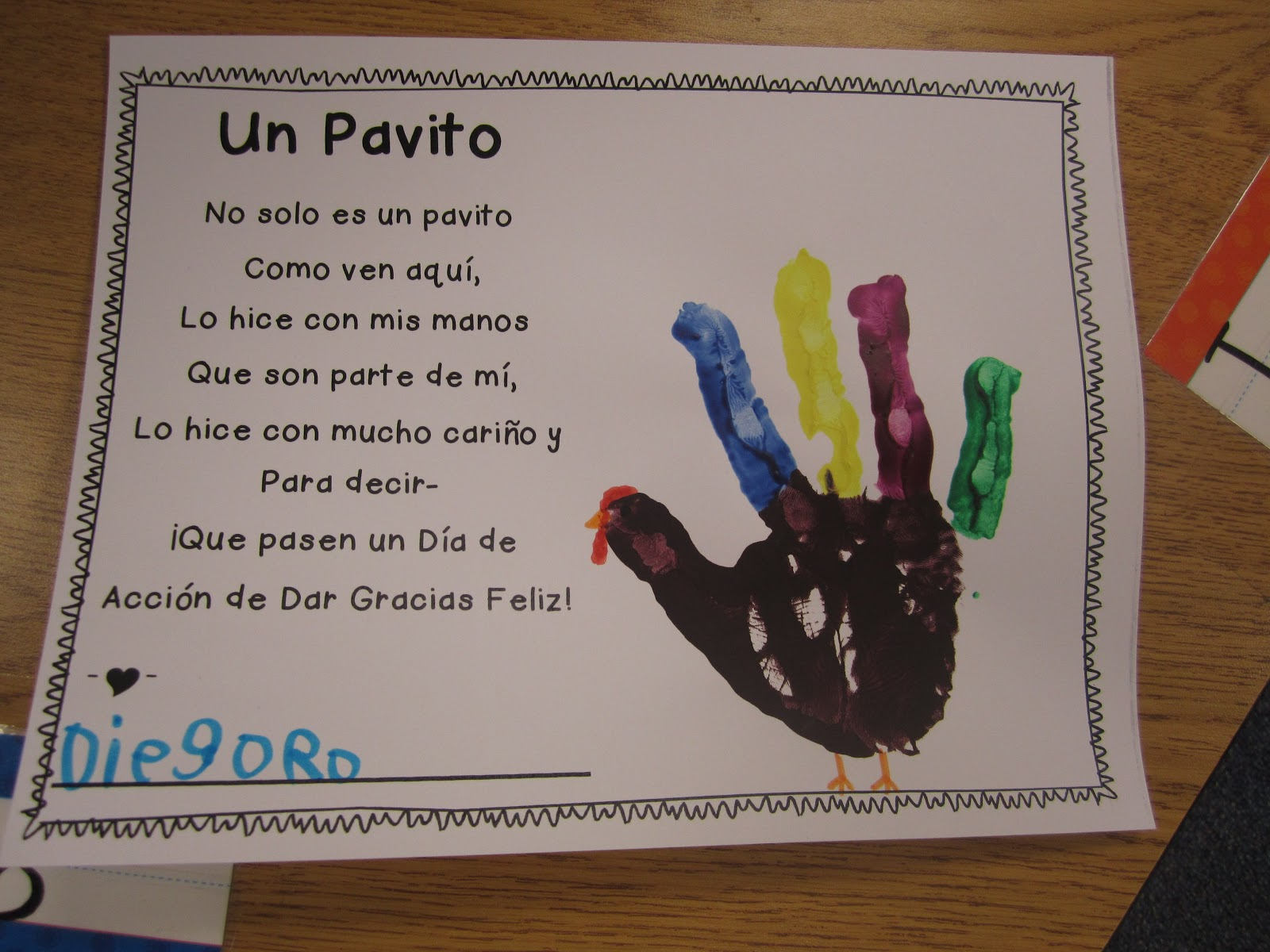 Kinder Dual Language Divas November