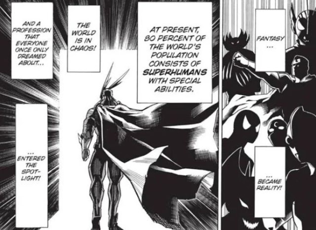 Marvel & DC Superheroes Have Appeared in My Hero Academia