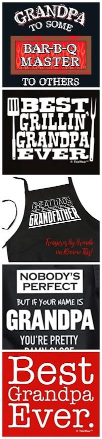 Five Great Grandpa Aprons