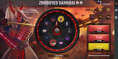 bundle Zombie samurai
