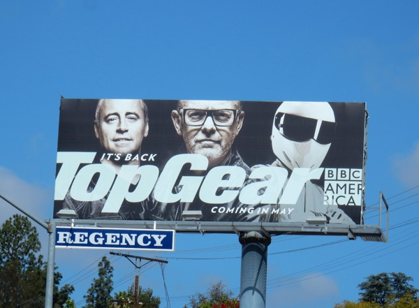 Top Gear season 23 billboard