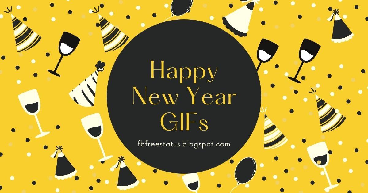 happy new year gif