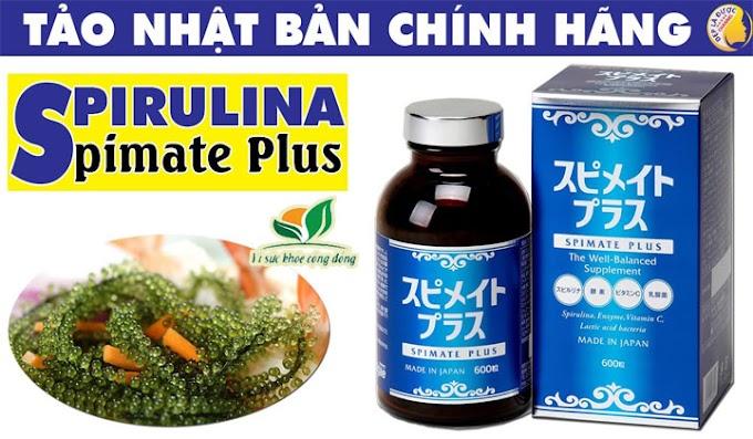 Tảo spirulina spimate plus của Nhật có tốt không?