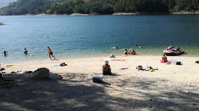 Zona Fluvial da Praia do México no Gerês
