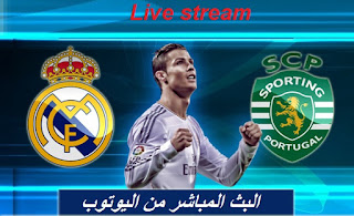 Watch Real Madrid vs Sporting Lisbon Live 09/14/2016 Champions League