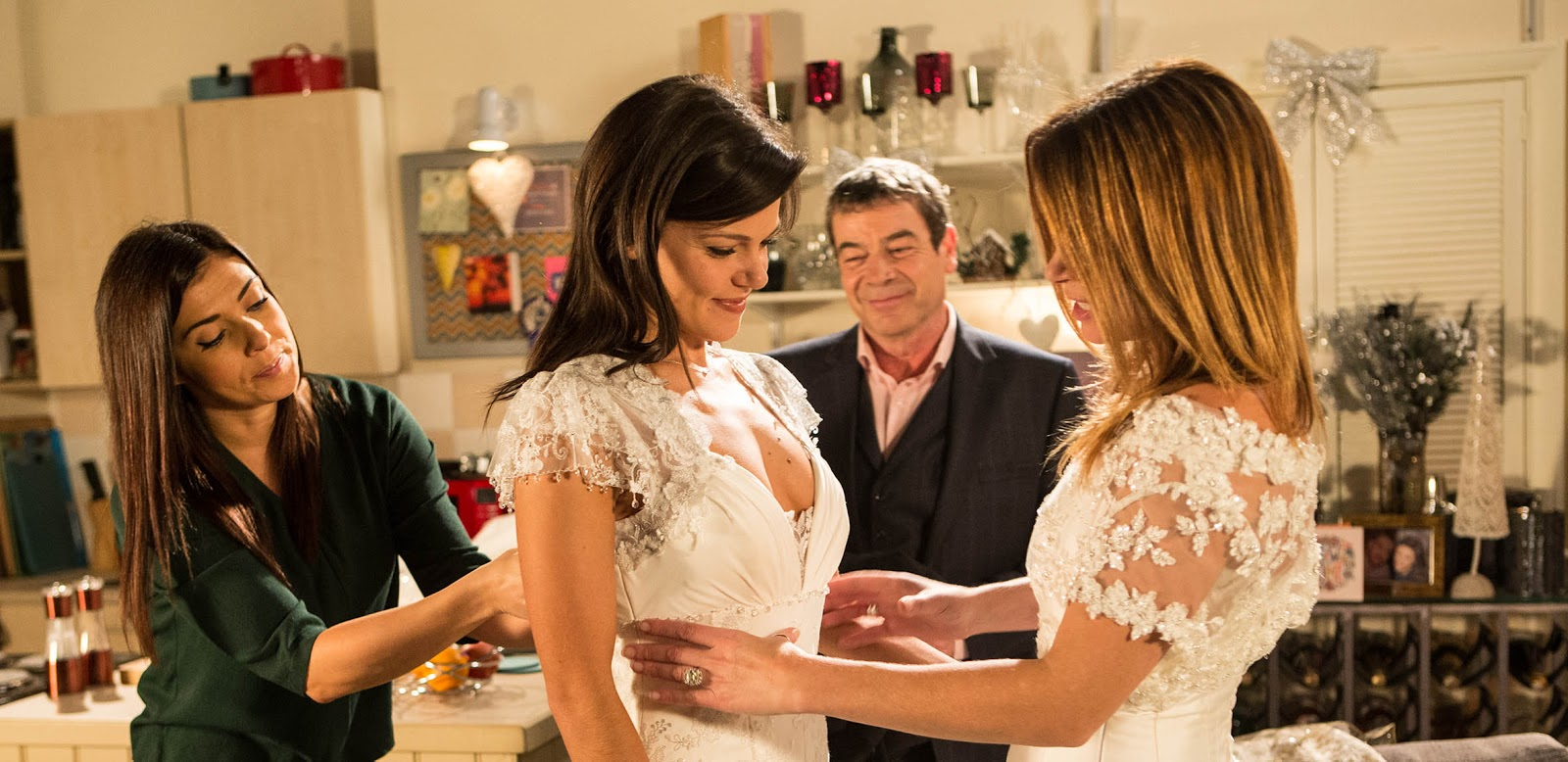 Where To Carla And Kate S Coronation Street Wedding Gowns