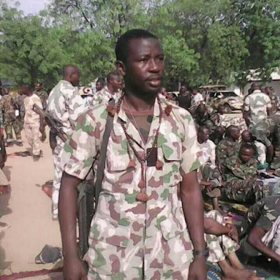 """We live in the bush so you can sleep at home"" poignant last words of Nigerian soldier killed on the frontline"