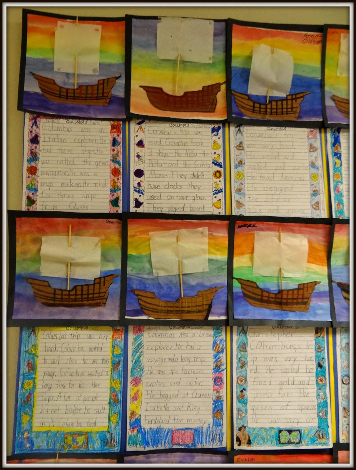 Columbus Day Activities – Patties Classroom [ 1600 x 1211 Pixel ]